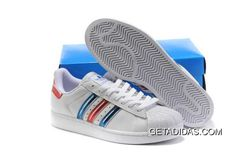 sports shoes 81313 198f4 Mens Adidas Originals Superstar II Shoes White Red Blue Noble Taste Wear  Resistance Dropshipping TopDeals, Price   75.68 - Adidas Shoes,Adidas  Nmd,Superstar ...