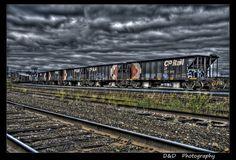 Sudbury, Ontario Sudbury Canada, Greater Sudbury, Hdr Pictures, Suitcases, Landscape Photos, Railroad Tracks, Ontario, Trains, Sick