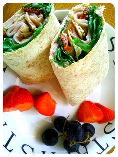 Turkey Wrap- Quick Lunch 278 calories
