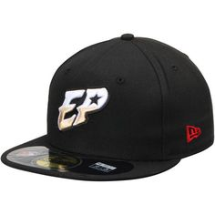 347bb788c2b El Paso Chihauhuas New Era Authentic 59FIFTY Fitted Hat - Black -  22.99