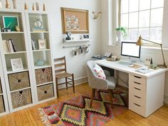 Dust Free Home - Keeping a tidy home office helps with maintaining a dust free home.