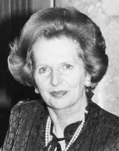 Margaret Thatcher. Love her or loathe her; Britain's first female prime minister has never been suceeded by another woman. DA