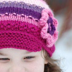 Boutique Child Girl Spring Flower Power in Pinks by deusprovidebit
