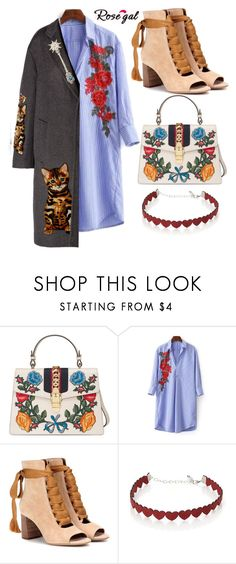 """""""Untitled #153"""" by lorgriff ❤ liked on Polyvore featuring Gucci, Chloé, Simons and Dolce&Gabbana"""