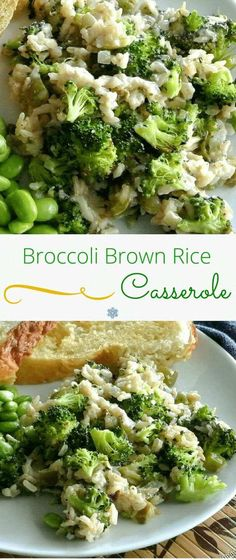 Broccoli Brown Rice Casserole is a favorite for rice loving children and for us…