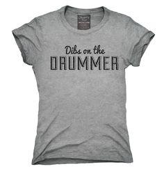 Dibs On The Drummer Shirt, Hoodies, Tanktops