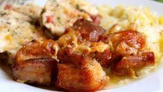 vepřové maso | Vaření s Tomem Food And Drink, Chicken, Meat, Cubs, Kai