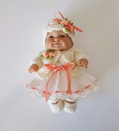 """Handmade Baby Dolls Clothes for 8"""" BERENGUER or similar /REBORN"""