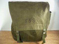 c844265f96 Vintage USFS Forest Service Jumper Fire Fighter Day Rucksack Backpack Pack  Bag