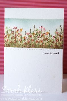 Goodbye Pocket Silhouettes: 3 card ideas (Stampin' Up stamp set, retired)