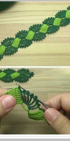 988 Me gusta, 18 comentarios - Crocheting yarn vk (crochetingyarnvk) en Instagra. Crochet Headband Pattern, Crochet Flower Tutorial, Crochet Flower Patterns, Crochet Motif, Crochet Flowers, Crochet Lace, Crochet Stitches, Crochet Braid, Cordon Crochet