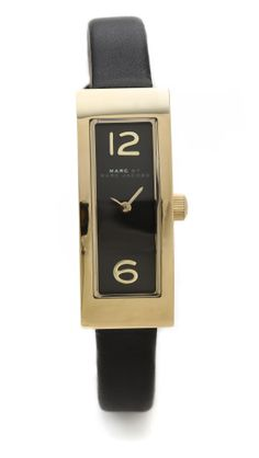 The long rectangular face of this Marc by Marc Jacobs watch makes for a chic Valentine's Day gift