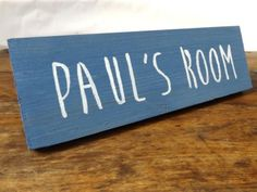 Personalised wooden room sign - Door sign - Wall Sign - Home Decor - Bedroom Sign - Games Room - Sports Room - TV Room - Entertainment Room Playroom Signs, Nursery Signs, Playroom Decor, Nursery Decor, Personalized Signs, Personalized Wedding, Door Signs, Wall Signs, Slate Signs