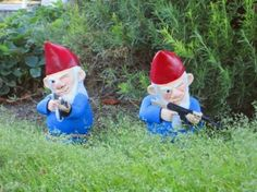 Nasty Gnomes for the hubby!