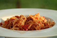 Marmite de poulet au riz à l'espagnol (recette Tupperware)