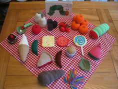 The Very Hungry Caterpillar Story Sack (Knitted Food ,EYFS Teaching Resource) Home Learning, Preschool Activities, The Very Hungry Caterpillar Activities, Story Sack, Traditional Stories, Book Corners, Eyfs, Pattern Blocks, Mini Beasts