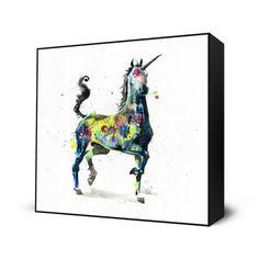 My design inspiration: Unicorn Mini Art Block on Fab.