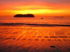 Sunrise @ Propiedad de Paradise Fishing Lodge