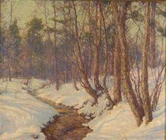 The upland stream - Walter Launt Palmer