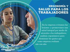 Ergonomía y salud para sus trabajadores, un servicio más que ofrecemos en Grupo Fisioterapéutico Integral #GrupoFI.