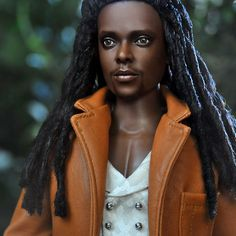 Laurent - Twilight Repainted - by Noel Cruz Chucky, Pretty Dolls, Beautiful Dolls, Twilight Dolls, Twilight Saga, Barbie Celebrity, African American Dolls, Realistic Dolls, Black Barbie