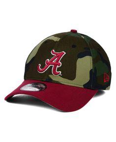 1599cea02b7 New Era Alabama Crimson Tide Classic Camo 39THIRTY Cap Men - Sports Fan  Shop By Lids - Macy s