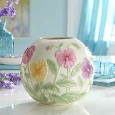lenox vases | Pansy Vase by Lenox
