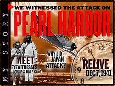 My Story: Pearl Harbor - Primary Sources, Hour by Hour Details, Teacher's Guide, etc.