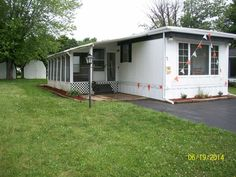 Outside Front 1974 Vindale Mobile Manufactured Home In South Bloomfield OH Via MHVillage