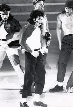 Michael Jackson performs at the 30th Annual GRAMMY Awards on March 2, 1988