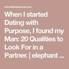 Mindful dating elephant journal articles
