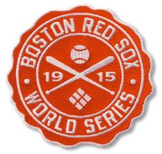 1915 World Series Official MLB Baseball Patch - Boston Red Sox vs Phillies