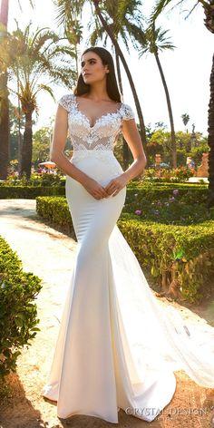 Crystal Design Sevilla Wedding Dresses 2017 / http://www.deerpearlflowers.com/crystal-design-haute-couture-wedding-dresses-2017/7/
