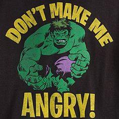 The Incredible Hulk Tee ....Jax would love this