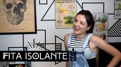 Decoração com Fita Isolante | by Aline Albino #diy Doityourself #façavocêmesmo