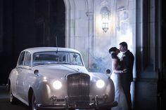 Rolls Royce, sophisticated wedding transportation -- Brett Matthews Photography