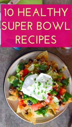 Healthy snack ideas for the Super Bowl