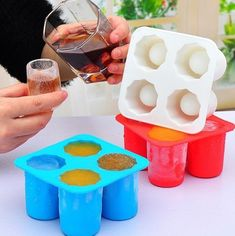 Create Your Own Creative Shot Glasses Mold Shot Glass Mold, Glass Molds, Dyi, Innovation, Ice Cup, Ice Molds, Soap Molds, Creative Shot, Popsicle Molds