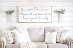 Living Room Wall Decor 💰SAVE off ENTIRE ORDER when you buy more than one item in our shop. We have over 300 items for sale! Click or tap our shop name to view our main shop page, or click the link below! Scripture Signs, Scripture Wall Art, Bible Verses, Frame Wall Decor, Frames On Wall, Wall Décor, Framed Wall, Living Room Wall Decor Ideas Above Couch, Wood Wall