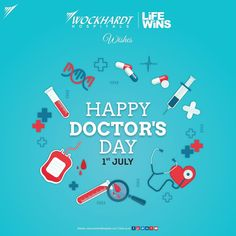 We salute and take this moment to wish all our Doctors at Wockhardt Hospitals a Happy Doctor's day. Their Dedication, Compassion and Perseverance in making Life Win makes them our heroes. Thank you Doctors! Happy Doctors Day, Health Day, Hospitals, Compassion, Wish, In This Moment, How To Make