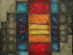 no titile, oil painting, 100 x 100 cm, by Altea Leszczynska