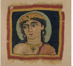 Akhmim, Egypt (made) Date: 300-400 (made) Artist/Maker: Unknown (production) Materials and Techniques: Tapestry-woven wool and linen Museum number: 270-1889