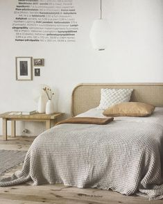 Our new Lempi rattan headboard spotted in great company in the latest issue of Finnish @kotijakeittio!  We're absolutely loving the cozy and down-to-earth feel of this bedroom setting.  Thank you @kotijakeittio Lempi headboard designed by @designofficekoko3   #matri #matribyfennobed #scandinaviandesign #scandinavianhome #scandinavianstyle #lempi #headboard #rattan #rattanheadboard #designofficekoko3 #madeinfinland #designfromfinland #bed #bedroom #makuuhuone #sänky #sängynpääty #rottinki...