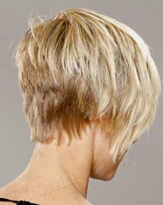 Short layered back