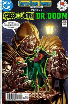 Super-Team Family: The Lost Issues!: Green Lantern Vs. Doctor Doom