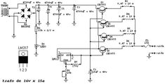 fonte 1V5 15V 15A Power Supply Circuit, Electronics Projects, Solar, 1, Electronic Circuit, Pandora, Design Concepts, Electronic Schematics, Designer Fonts