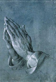 Daily artworks: Albrecht Dürer (1471 - 1528) Praying Hands, a pen-and-ink drawing made (circa 1508)
