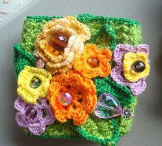 crochetted cuff