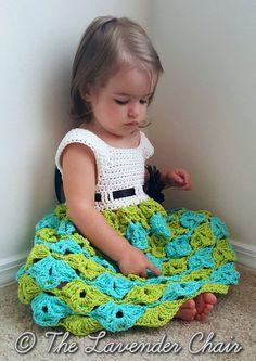 Sally's Summer Sun Dress Crochet Pattern PDF by TheLavenderChair