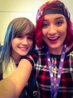 I found the adorable @SovitiaUnion at #TwitchCon!